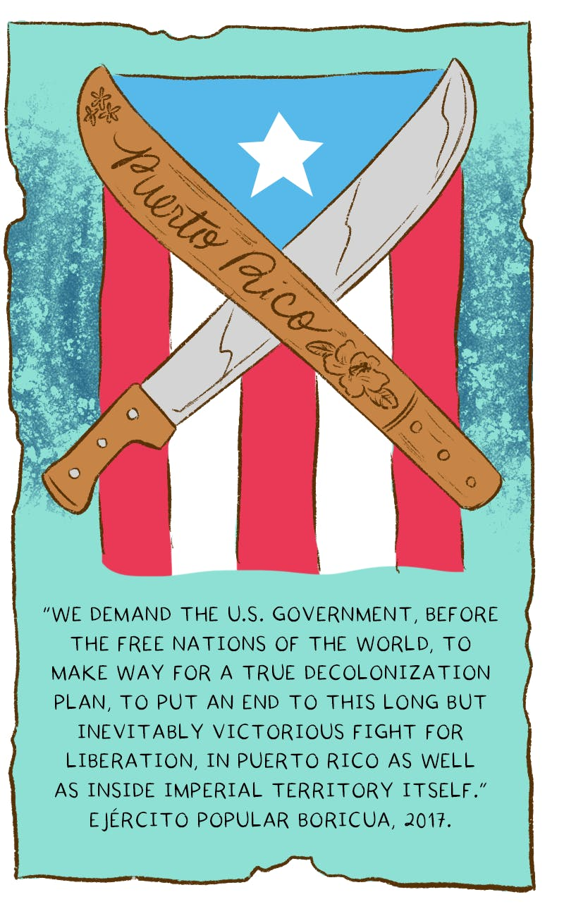 Puerto Rico\'s Long History of Separatists - by Rosa Colón