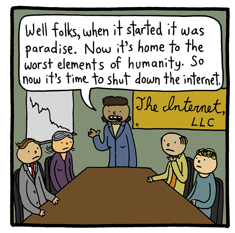 The End of the Internet - by Joey Alison Sayers