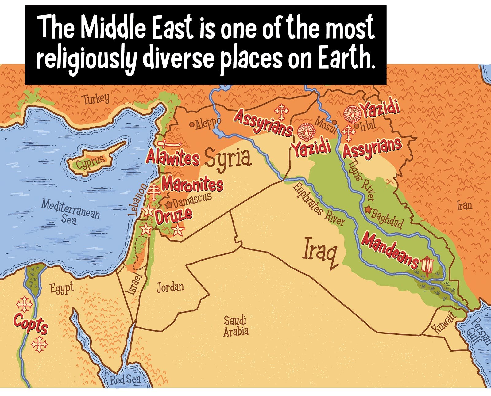 an introduction to the religions in the middle east Author sorenson, david s, 1943- author title an introduction to the modern middle east : history, religion, political economy, politics / david s sorenson.