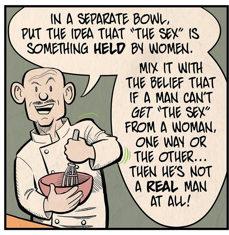 Toxic Masculinity Stew - by Barry Deutsch