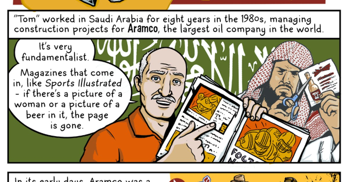 The Secret Moonshiners of Saudi Arabia - by Andy Warner