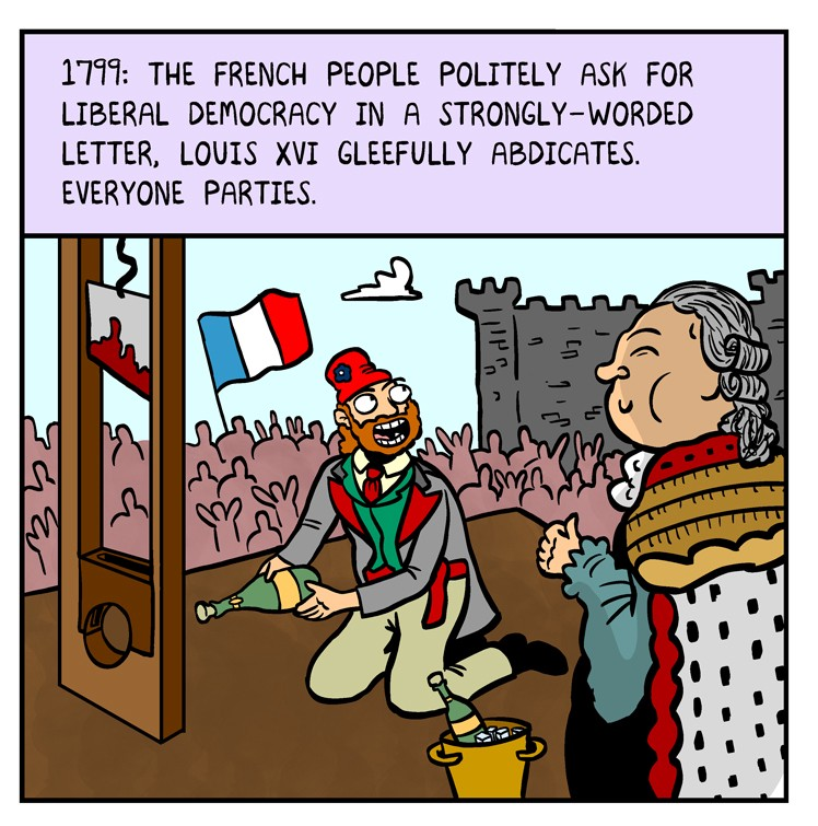 Great Moments in Peaceful Protest History - by Matt Lubchansky