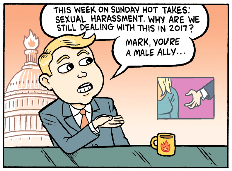 Sexual harassment and politics