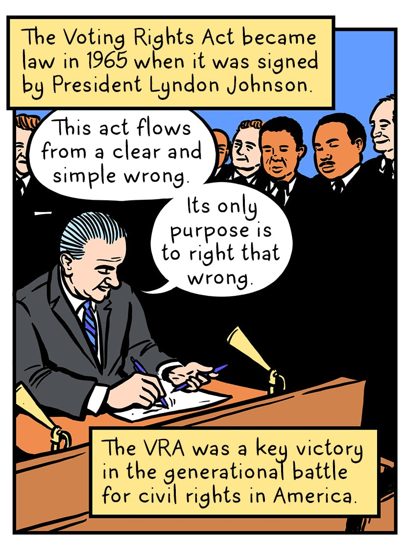 the voting rights act was gutted here s what happened next by