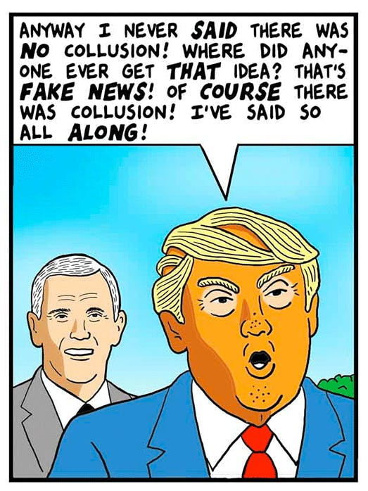Collusion Confusion - by Tom Tomorrow