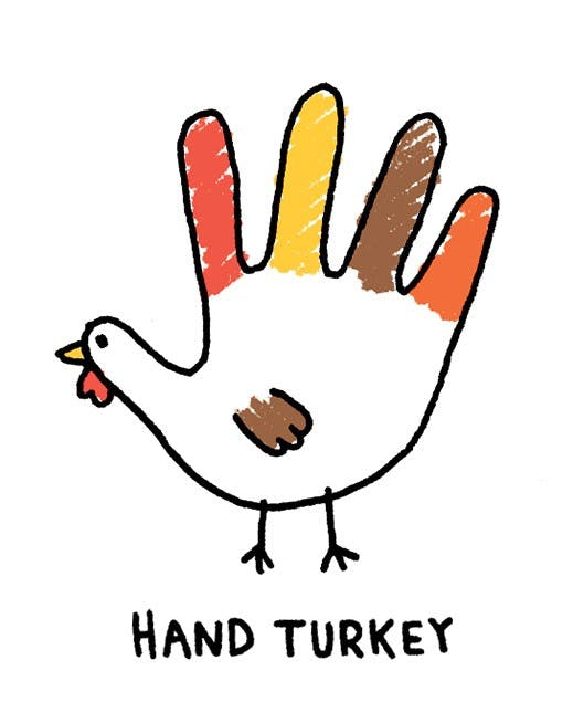 Image result for hand turkey