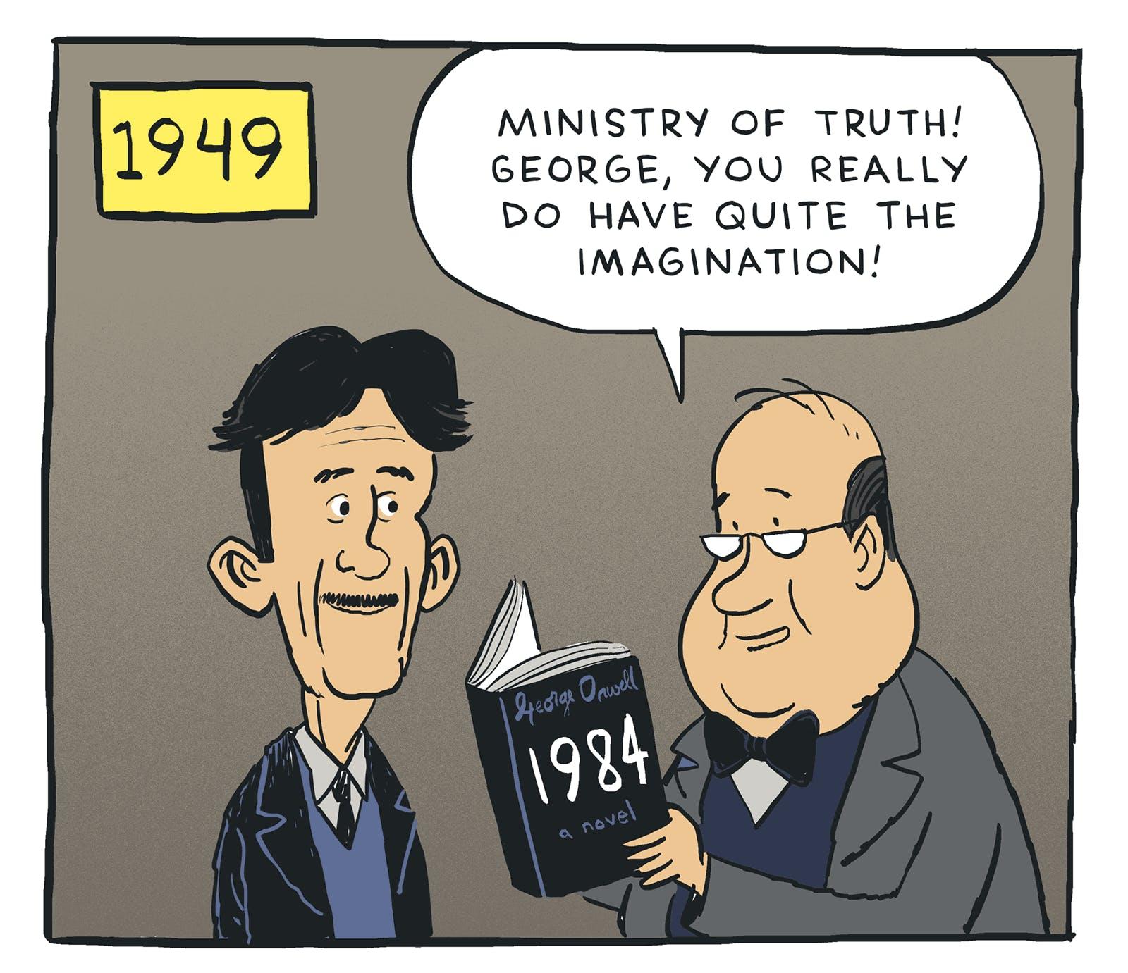 george orwell s twenty seventeen by john martz