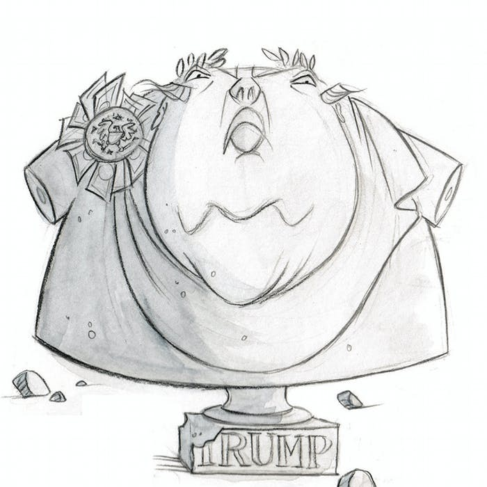 Busts of the Trumpian Empire