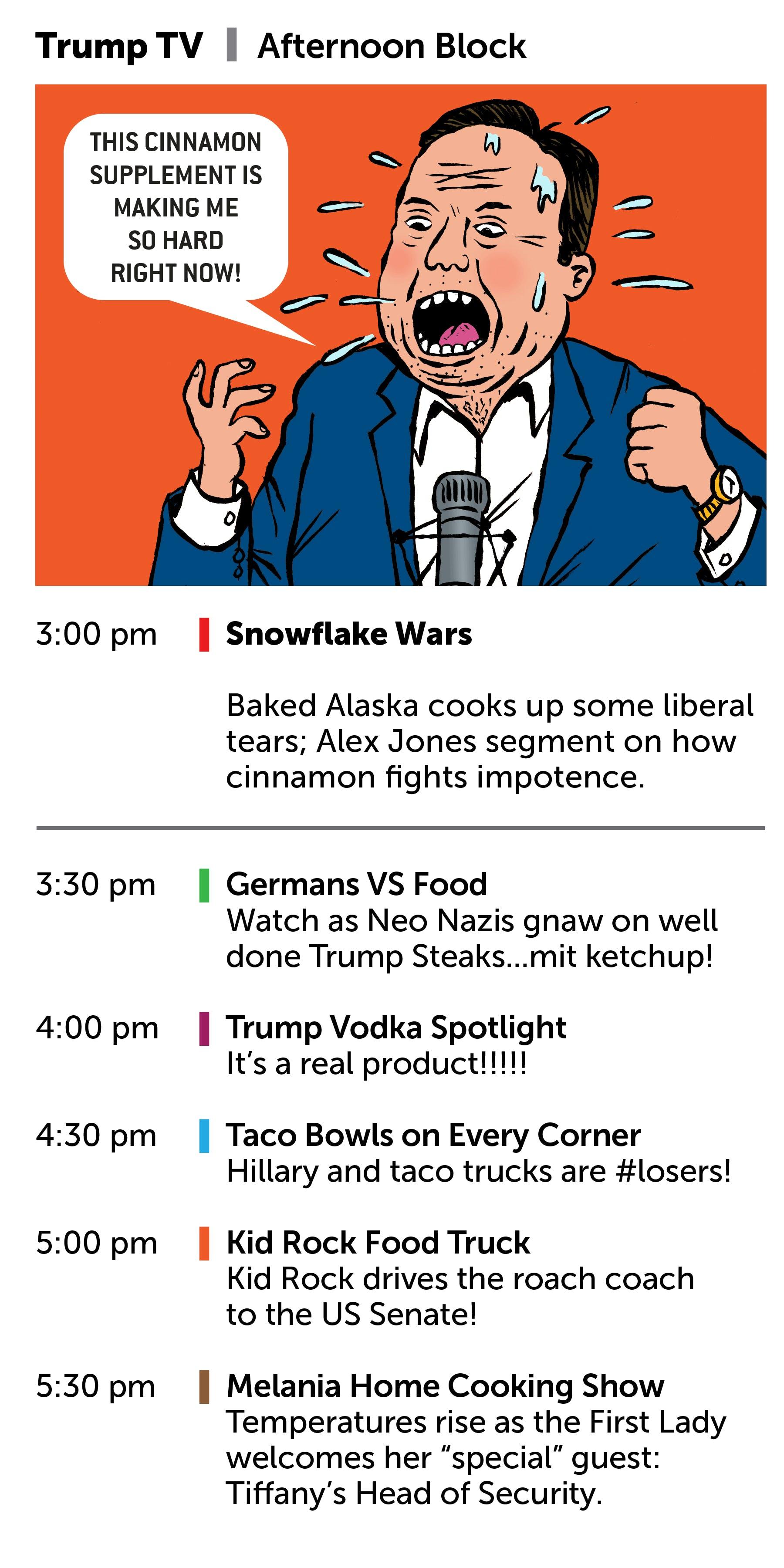 tv guide. https://thenib.com/your-trump-tv-guide tv guide