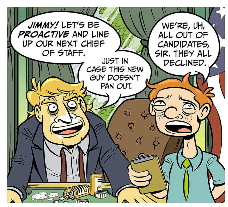This Ain't it, Chief - by Jon Rosenberg