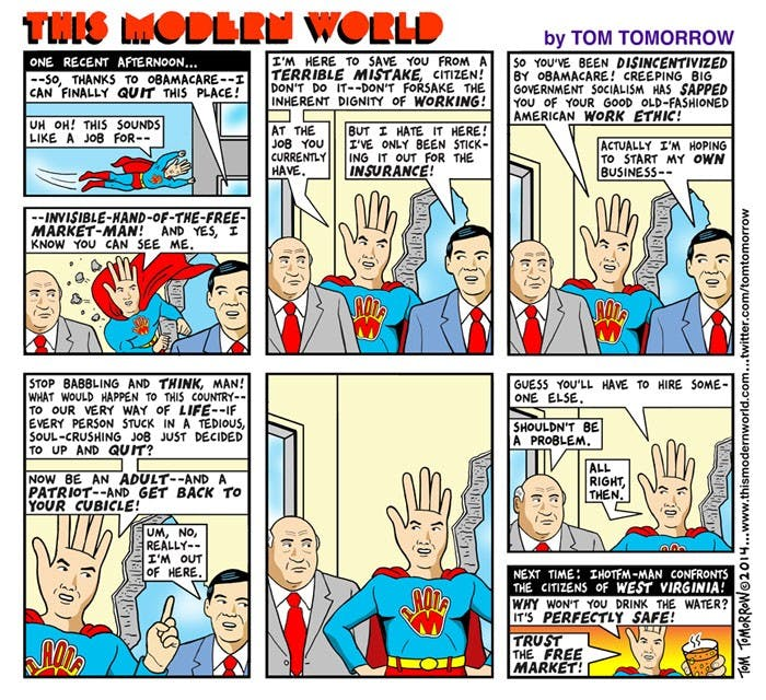Image result for tom tomorrow invisible hand
