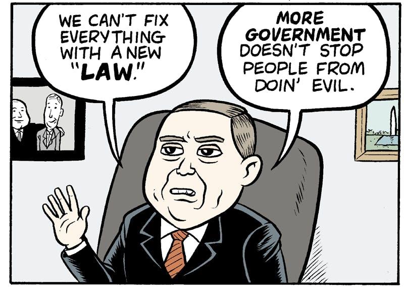 Shooting Down Gun Control By Matt Bors