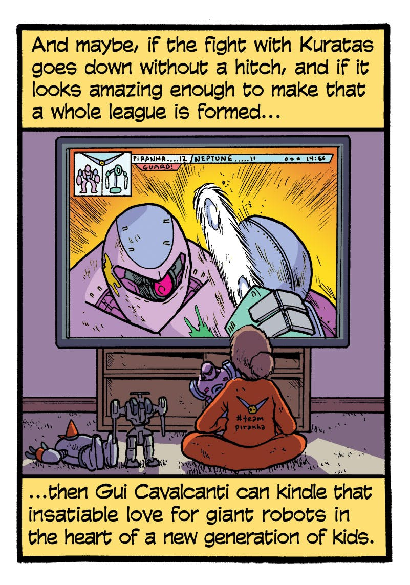 The League of Extraordinarily Large Robots - by Andy Warner