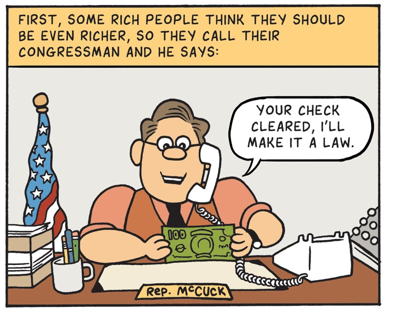 How A Tax Bill Becomes A Law By Matt Bors