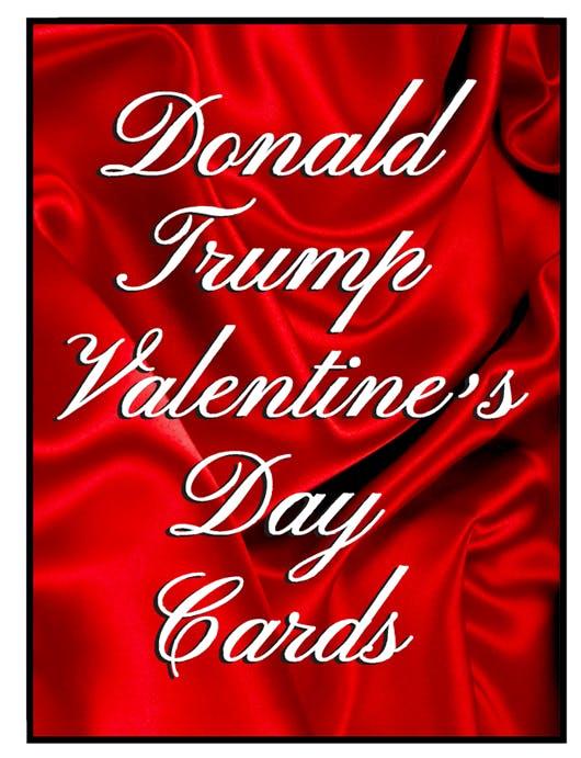 Happy Valentine S Day From President Trump By Tom Tomorrow