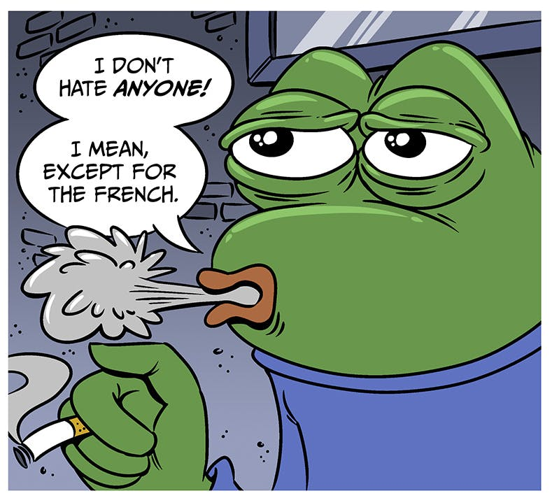 pepe behind the meme by jon rosenberg
