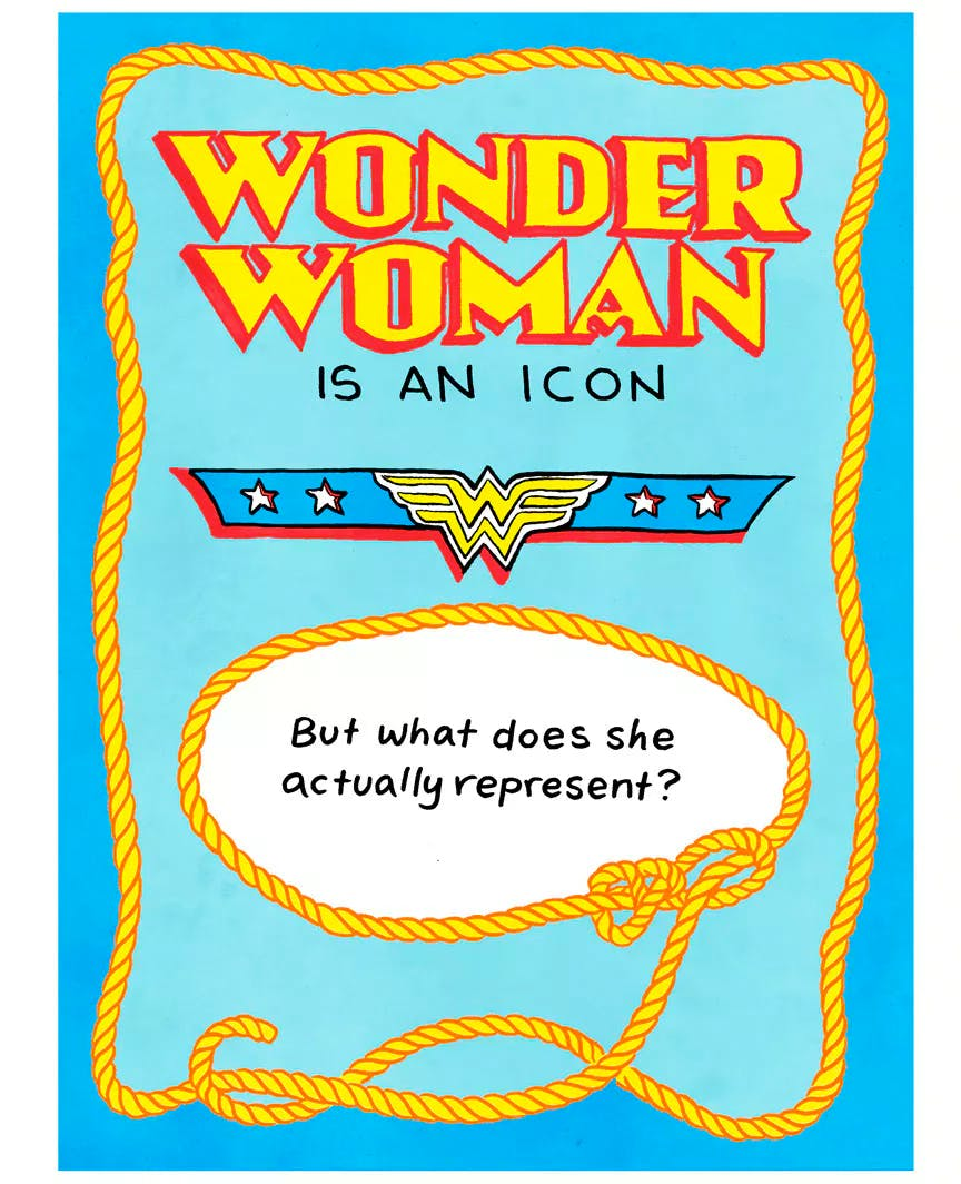 What does wonder woman actually represent by lucy bellwood and what does wonder woman actually represent by lucy bellwood and sarah mirk buycottarizona