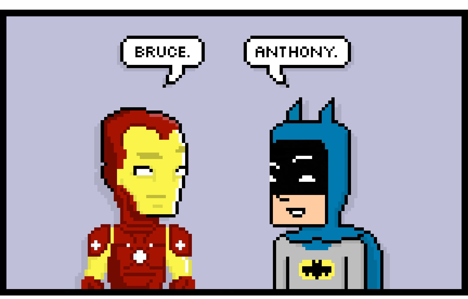 Batman V Ironman By Rich Stevens Tribe Headphones