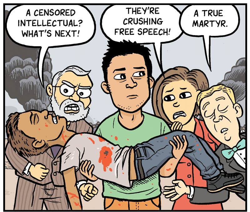 A Moral Outrage In The Holy Land By Matt Bors